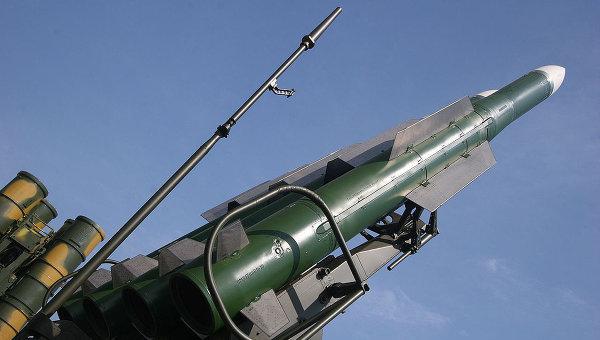 Зенитно-ракетный комплекс Бук. Архивное фото