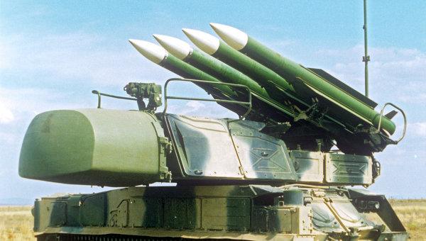 Зенитный ракетный комплекс БУК-М1, архивное фото