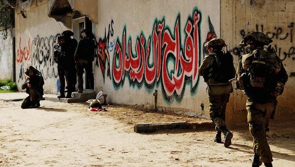 Израильские войска в секторе Газа. Архивное фото