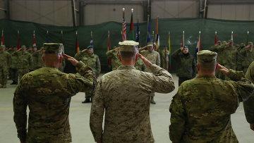 Американские военнослужащие в Афганистане. Архивное фото.