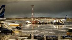 Аэропорт в Финляндии. Архивное фото