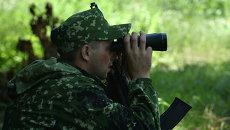 Ополченцы ДНР во время боевых действий. Архивное фото