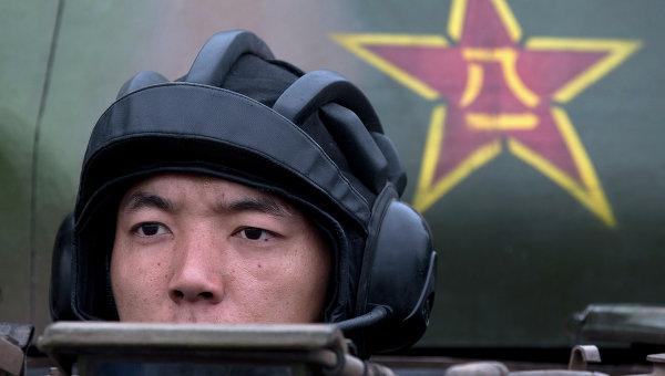 Китайский солдат. Архивное фото