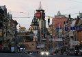 Вид на одну из улиц Киева