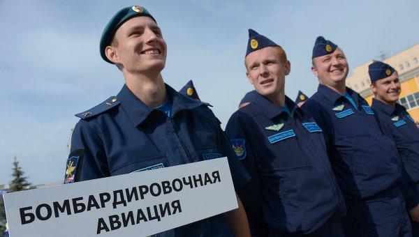 Летный экипаж ВВС России. Архивное фото