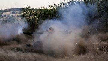 Ситуация в зоне внутриукраинского конфликта. Архивное фото