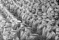 Русские солдаты во Франции на палубе пакетбота, 1916 год