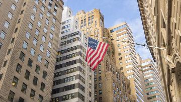 Флаг США, архивное фото