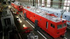 Строительство локомотивов. Архивное фото