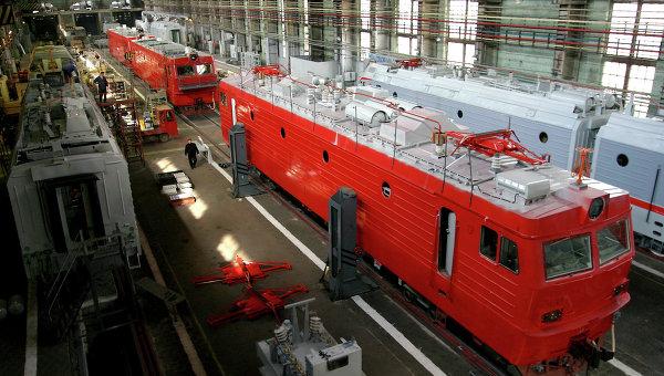 Цех Новочеркасского электровозостроительного завода