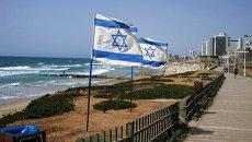 Флаги Израиля. Архивное фото