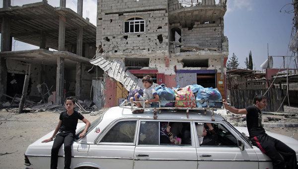 Жители сектора Газа, архивное фото