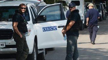 Эксперты и представители ОБСЕ. Архивное фото