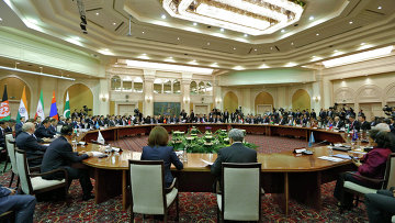 Заседание глав правительств государств-членов Шанхайской организации сотрудничества (ШОС)