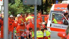 Работа швейцарских спасателей. Архивное фото