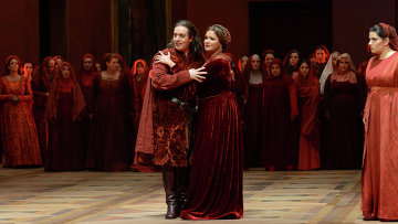 Премьера оперы Д. Верди Трубадур на Зальцбургском фестивале