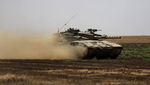 Войска Израиля попали под обстрел награнице Газы