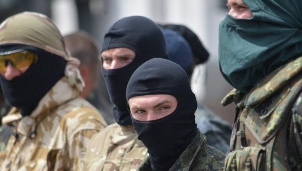 Бойцы батальона Донбасс, Украина. Архивное фото
