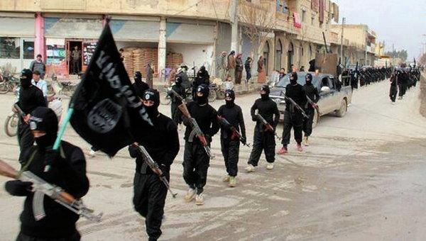Бойцы Исламского государства Ирака и Леванта в Сирии