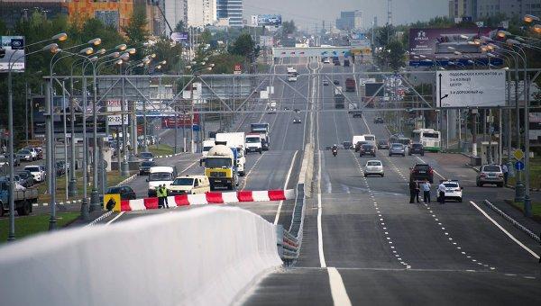 НаВаршавском шоссе перекрыто движение вцентр из-за столкновения 7 машин