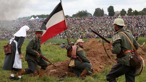 Историческая реконструкция Гумбинненское сражение