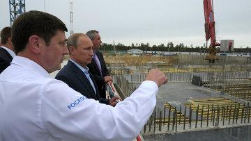 Рабочая поездка В.Путина в Амурскую область