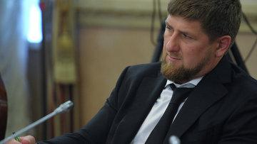 Глава Чеченской Республики Рамзан Кадыров Архивное фото