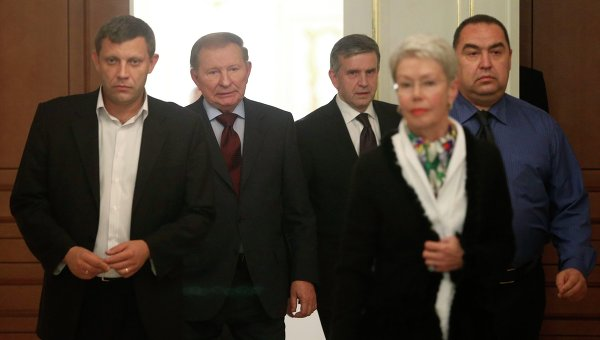 Переговоры в Минске по урегулированию конфликта на Украине