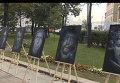 Портреты погибших в горячих точках журналистов появились в центре Москвы