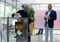 Председатель Государственного совета Крыма Владимир Константинов во время голосования на избирательном участке в музыкальном училище в Симферополе.