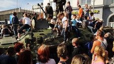 Празднование дня города в Луганске. Архивное фото.