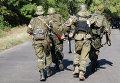 Ополченцы Донецкой народной республики (ДНР) в районе поселка Пантелеймоновки