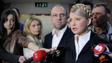Лидер партии Батькивщина Юлия Тимошенко. Архивное фото.