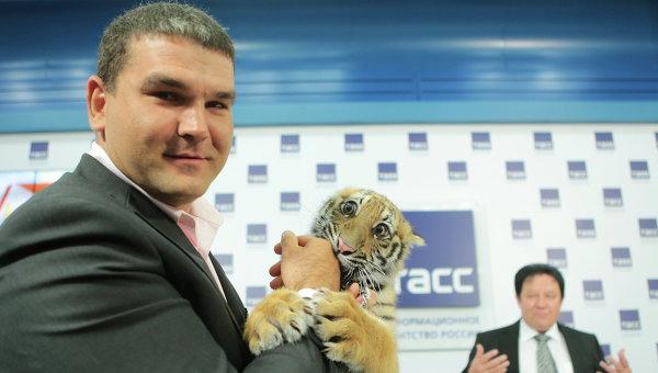 Новым героем детской передачи Спокойной ночи, малыши! стал тигр
