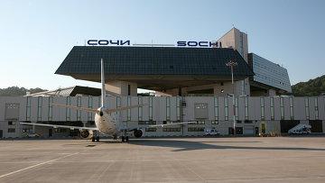 Аэровокзальный комплекс в Сочинском аэропорту. Архивное фото