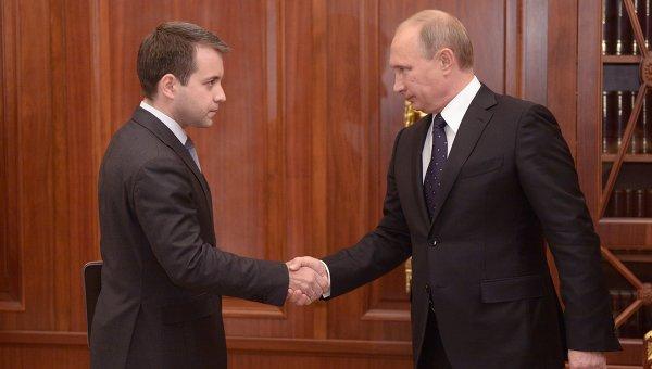 В.Путин встретился с Н.Никифоровым