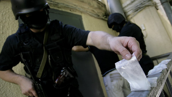 Сотрудники наркополиции. Архивное фото