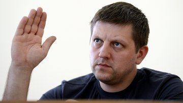 Председатель республиканского парламента Луганской народной республики Алексей Карякин