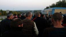 Обмен пленными под Донецком. Архивное фото