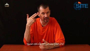 Видеообращение британского заложника Джона Кэнтли