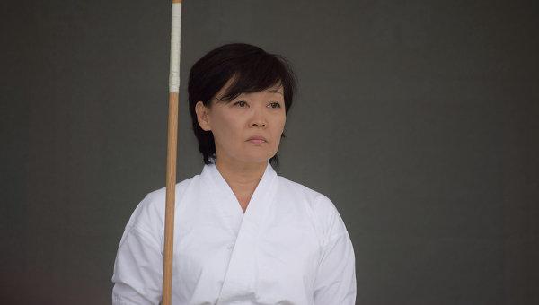 Акиэ Абэ в поединке