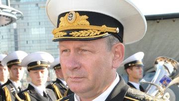 Главком ВМФ России адмирал Виктор Чирков