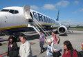 Самолет авиакомпании Ryanair. Аэропорт Дублина, Ирландия. Архивное фото