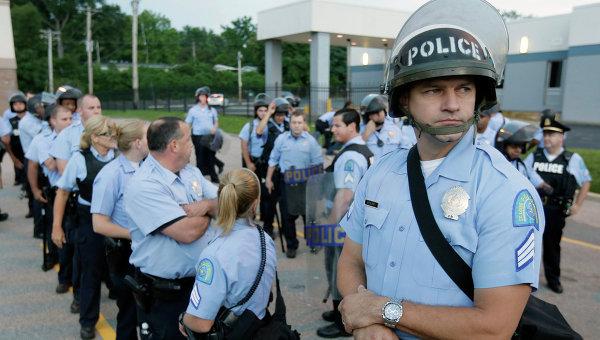 Полиция Сент-Луиса, США. Архивное фото
