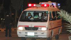 Автомобиль скорой помощи в Йемене. Архивное фото