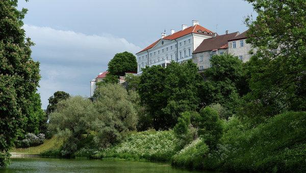 Здание парламента Эстонии. Архивное фото