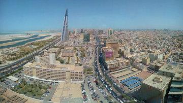 Панорама Манамы. Бахрейн. Архивное фото