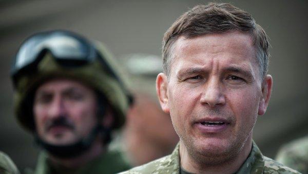 Украинский министр обороны Валерий Гелетей. Архивное фото