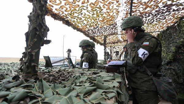 Российские военнослужащие Южного военного округа. Архивное фото