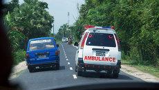 Скорая помощь в Бангладеш. Архивное фото